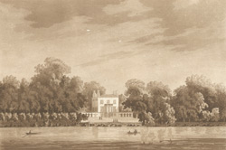 A view of Lord Paulett's house at Twickenham